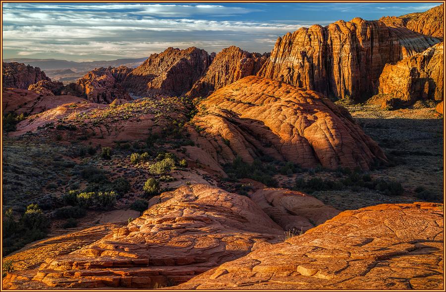 Snow canyon sunrise fin