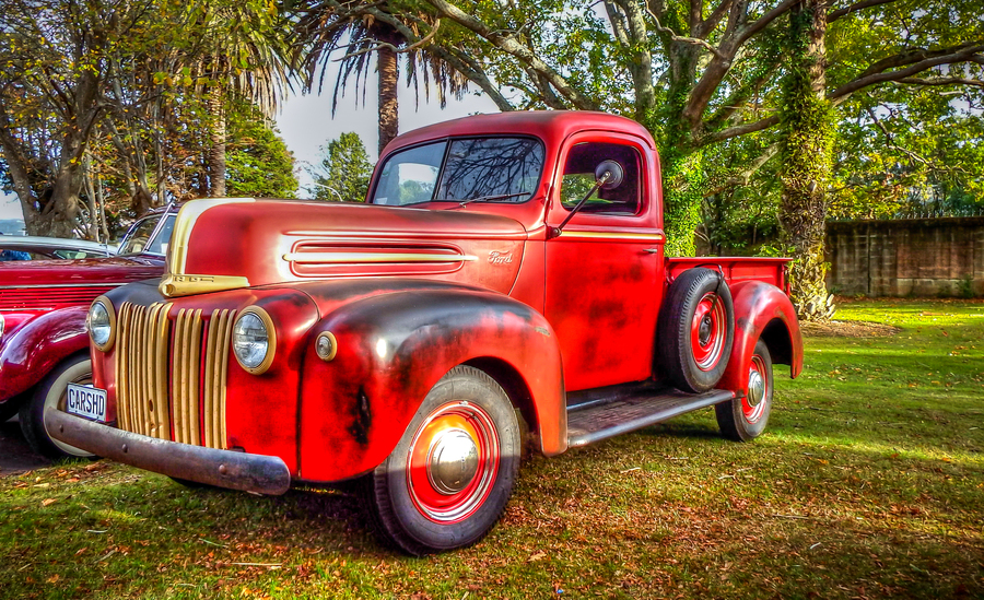 1946 ford pickup truck.
