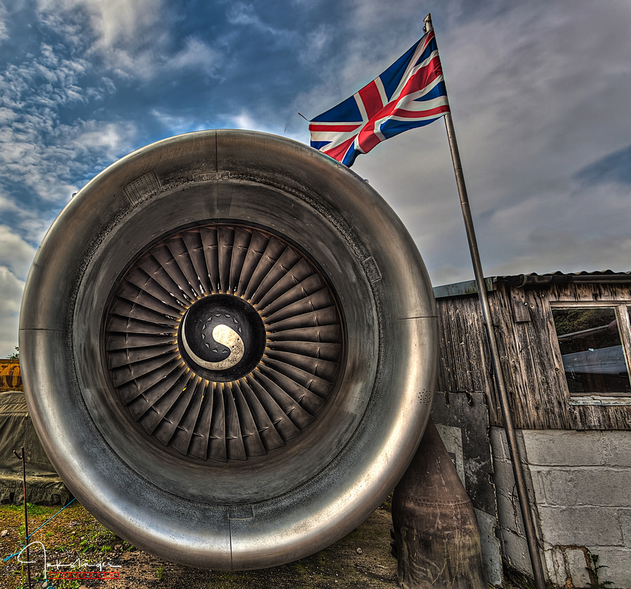 British airways engine