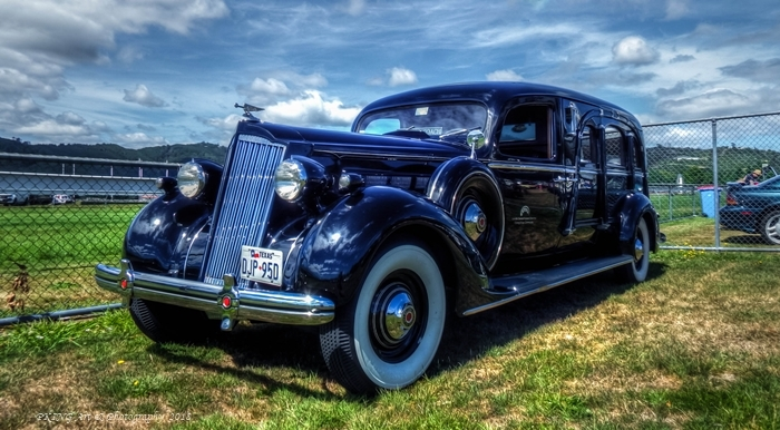 1936 packard super hearse straight 8