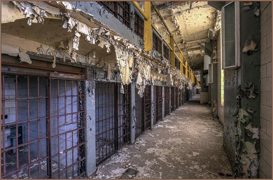 South cell block joliet prison