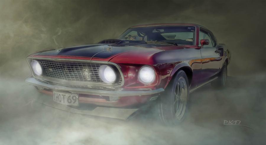 1969 ford mustang  fog 2
