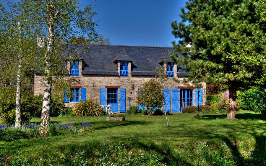 Maison typique bretonne hdr creme - Maison typique bretonne ...