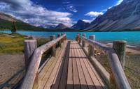 Bow lake Banff AB Canada