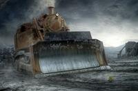 Steam destroyer ...