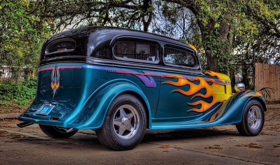 35 Chevy Custom Coupe - hdrcreme