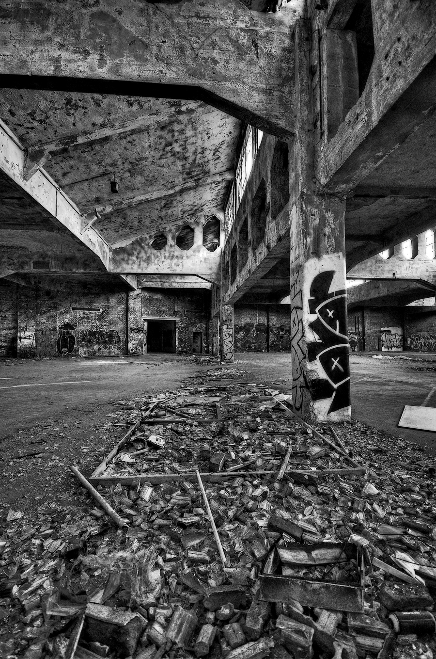 Lost Places Bw
