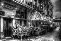 cafe's on the Vrijthof-square Maastricht