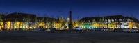Neuf-Brisach by night