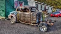 Old Chevy coupe