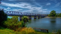 Dublin street Bridge  Whanganui  New Zealand